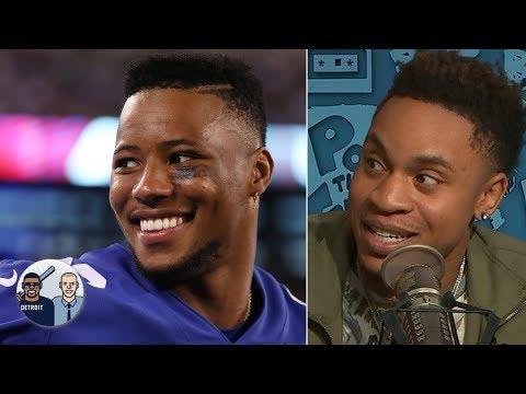 Power actor Rotimi admits he was shocked when Giants drafted QB Daniel Jones | Jalen & Jacoby