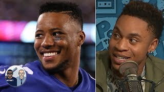 Power actor Rotimi admits he was shocked when Giants drafted QB Daniel Jones | Jalen & Jacoby