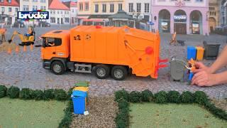 Scania Müllabfuhr -- 03560 -- BRUDER Spielwaren