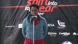 The Shift Gear Challenge- University of KwaZulu Natal- Nkcubeko Boyce