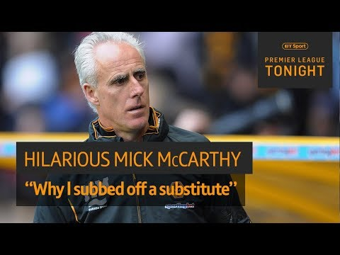 """I wasn't having that disrespect!"" Mick McCarthy on why he subbed off a sub 