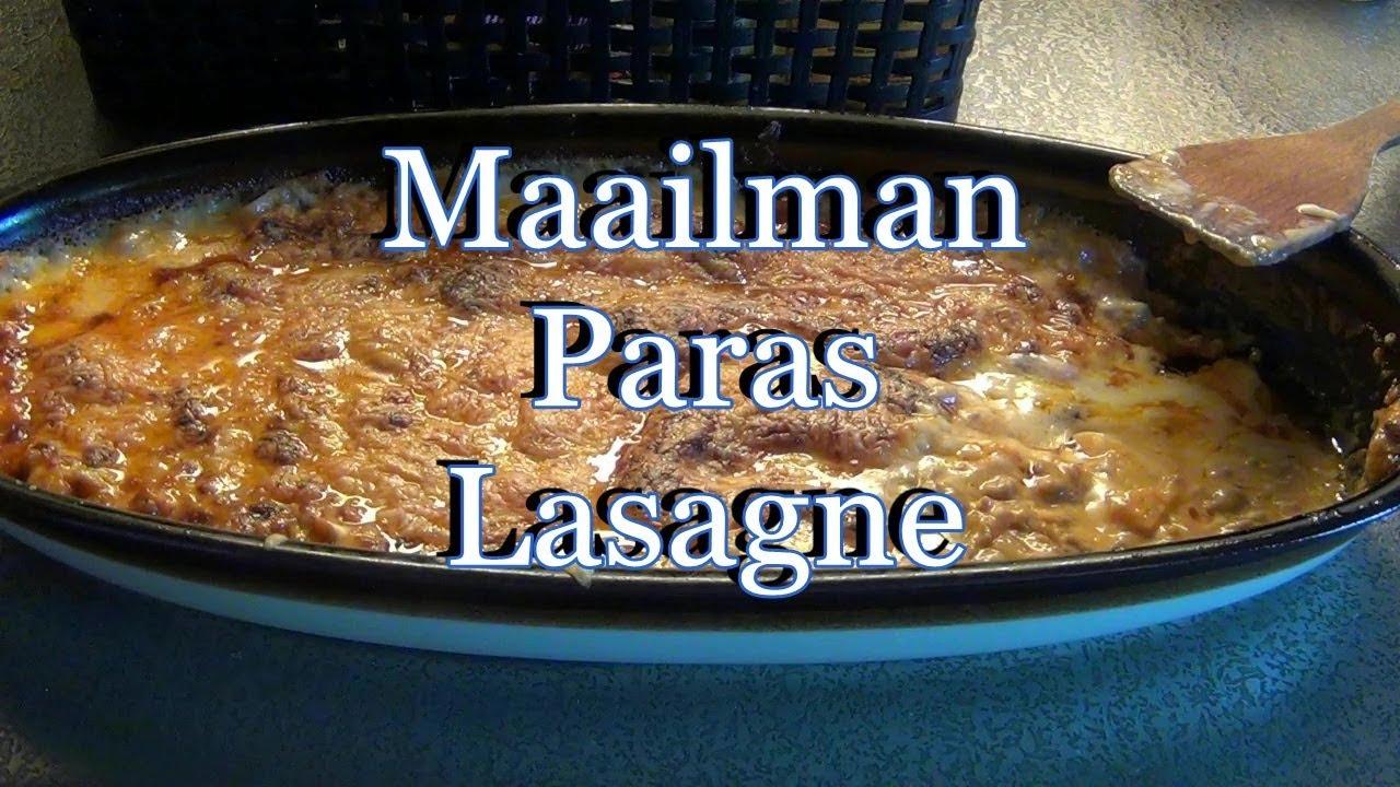 Maailman Paras Lasagne Hs