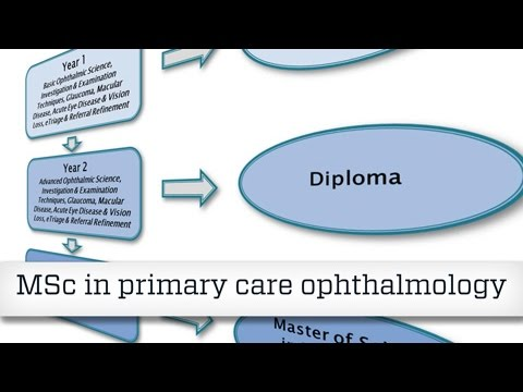 NES MSc in primary care ophthalmology