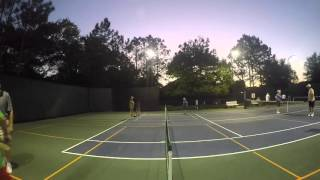 Some #pickleball play in DeLand, Florida!  ......A Fun sport for all ages!