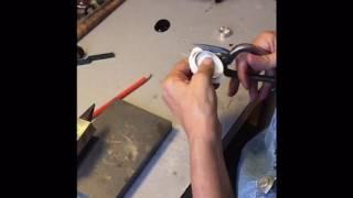 Gümüş yüzük imalat adımları / production step about silver ring