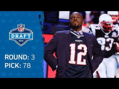 Kevin Faulk Shouts Out Tom Brady, Announces Patriots Pick: Joe Thuney (G) | 2016 NFL Draft