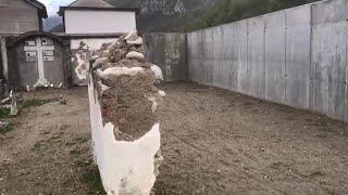 Riaperto il cimitero di Trappa devastato dalla piena del Tanaro