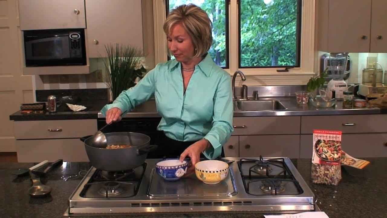 In The Kitchen: Fun Pasta\'s Chicken Noodle Soup - YouTube
