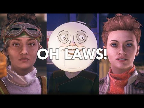 The Outer Worlds: Meeting a Moon Person with Ellie and Parvati |