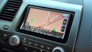 2011 Honda Civic outfitted with an Alpine INA-W910 | Pacific Stereo