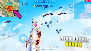 Star Oracle Bundle In Factory Roof Funniest Gameplay Free Fire | Garena Free Fire | P.K. GAMERS screenshot 4