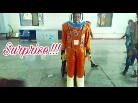 I became an ASTRONAUT | SPACE EXHIBITIONS || Part 2
