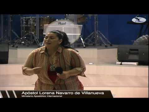 Apóstol Lorena Navarro de Villanueva | La Activación de la Fe