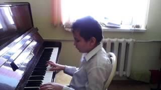 Это мои занятия по фортепиано