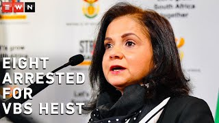 Hawks head Lieutenant General Godfrey Lebeya and NPA head Advocate Shamila Batohi briefed the media on the latest developments into the VBS investigation. Suspects are expected to appear in the Palm Ridge Court on 18 June 2020.