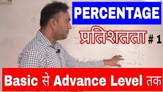 Percentage Maths Questions # 1 By gurukul hub | ssc cgl, chsl, ibps, sbi, vyapam, upsi exams