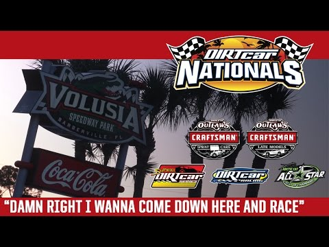 2017 DIRTcar Nationals: Damn Right I Wanna Come Down Here and Race - dirt track racing video image