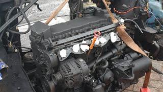 Trauer Fund Golf 3 VR6 Spezial Bastler Edition # 5 Neuer Motor