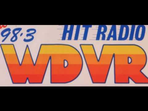 WDVR 98 3 Atlantic City - Bill Cain - Summer 1985