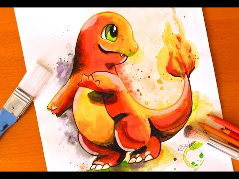 how to draw charmander videos