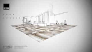 Интерьеры из плитки большого формата