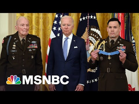 Biden Awards Medal Of Honor To Korean War Veteran Army Col. Puckett