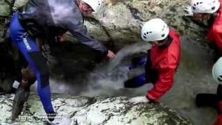 ТЕТИС | Каньонинг в Адыгее - ущелье Мешоко