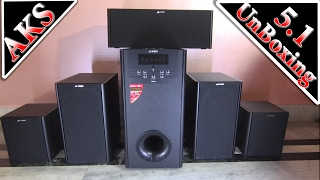 F&D F8000U 5.1 Home Theatre UnBoxing by AKS