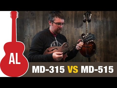 Eastman F-Style Mandolin Comparison (MD-315 And MD-515)