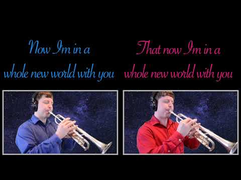 """A Whole New World (from Disney's """"Aladdin"""") Trumpet Cover"""
