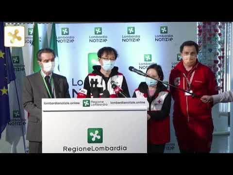 Coronavirus, La Conferenza Stampa Della Regione Lombardia Con Il Governatore Fontana