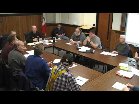 Hardin County Emergency Management Commission Meeting 1-15-2019