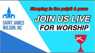 Sleeping in the Pulpit & Pews