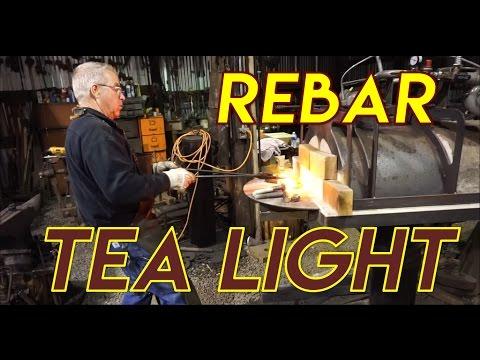 Rebar Tea Light