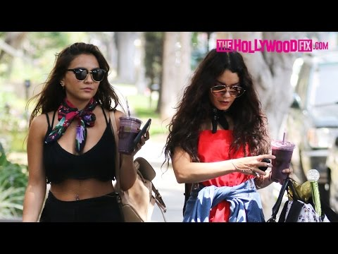 Vanessa & Stella Hudgens Grab Smoothies At Earth Bar Before Heading To A Friends House 5.13.16 Mp3