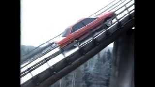 Audi 100 quattro Werbung 1988(mit Fahrt auf Ski-Schanze von 1986., 2014-08-03T19:22:05.000Z)