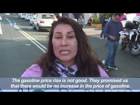 Protests continue in Mexico over oil price hike