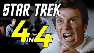 Star Trek: 4 Movies in 4 Minutes