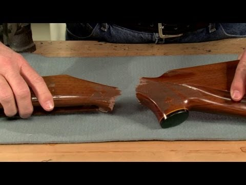 Gunsmithing - How to Reinforce the Wrist of a Rifle Stock