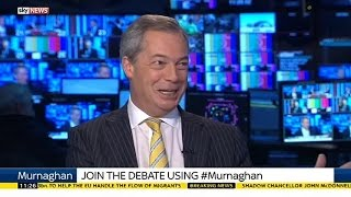 Nigel Farage: We're On The Same Page As Putin & Assad Against IS