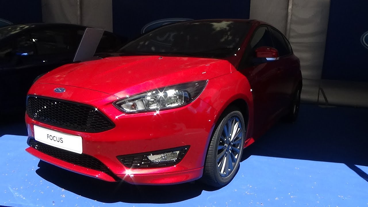 2017 Ford Focus Sedan St Line 1 0 Ecoboost Anium Exterior Interior Automobile Barcelona