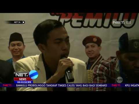 Sejumlah Mahasiswa yang Tergabung dalam GMKI Siap Kawal Pemilu NET24