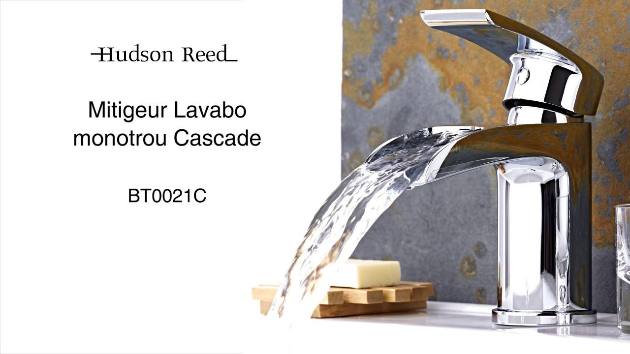 Mitigeur lavabo monotrou cascade BT0021C - YouTube