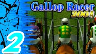 Gallop Racer 2004 Walkthrough With Commentary Day 2 PS2 Gameplay