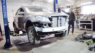 Привезли распил Mercedes-Benz W164 ML 350 m272, важные моменты эксплуатации (ДакАвто 25 Выпуск)