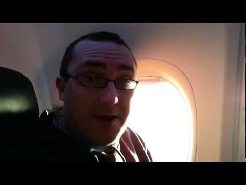 Paul Rutter & Phillip Gibson on the Plane!