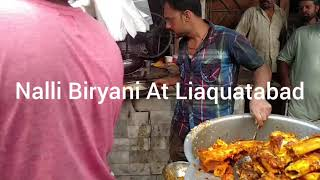 Nalli Biryani At Liaquatabad