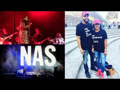 Ms. Lauryn Hill & Nas at Greek Theatre at UC Berkeley|2016 Concert Vlog