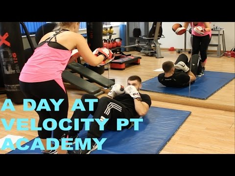 A day in the life at Velocity PT Academy - What do we get up to? - www.velocity-pt.co.uk