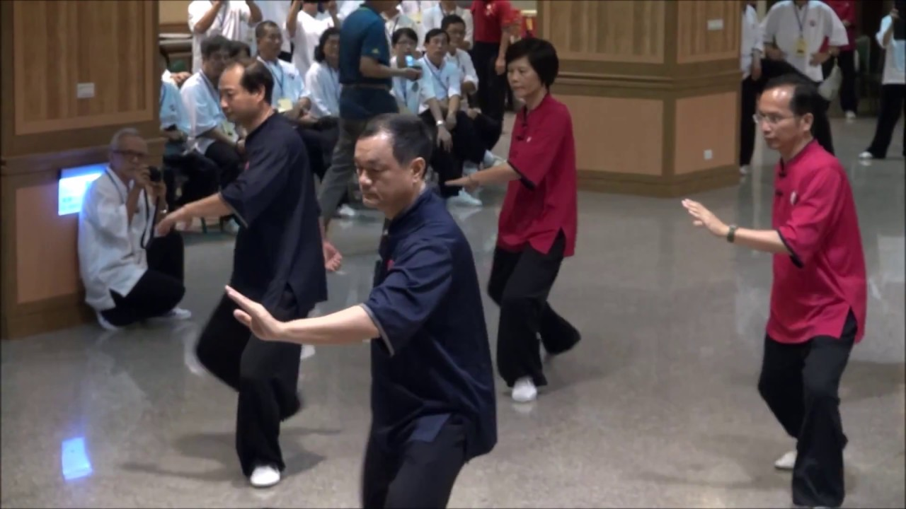 20141101全國研習營晚會_散手_ 高雄市薪傳鄭子太極拳協會 - YouTube